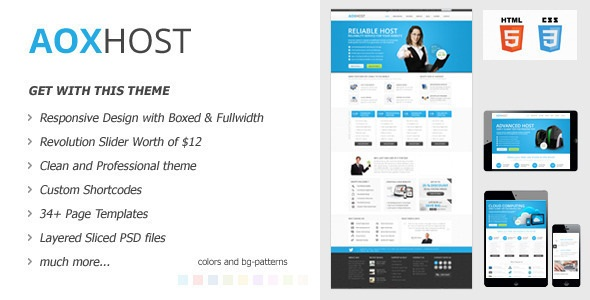 AOX HOST v1.5.1 – A Professional Hosting Theme – WHMCS - themesdad ...