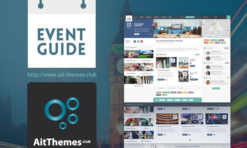 EVENT GUIDE v1.11 – DIRECTORY WORDPRESS THEME - themesdad - Download ...