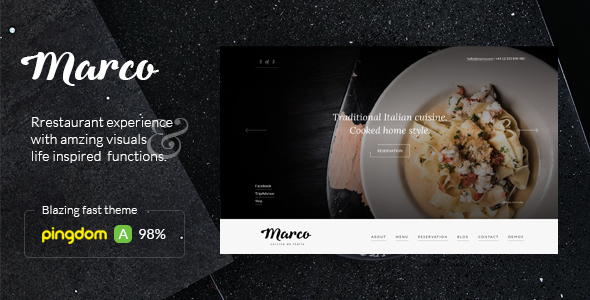 Marco v101 modern restaurant wordpress theme themesdad download free marco wordpress theme v130 forumfinder
