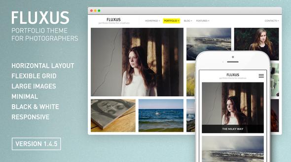 Fluxus v1.4.6 – Portfolio Theme for Photographers - themesdad ...