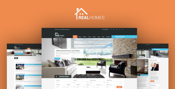 Real Homes v2.7.0 – WordPress Real Estate Theme - themesdad ...