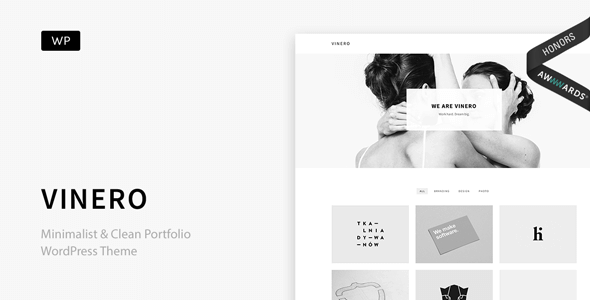 Vinero v1.2.1 – Very Clean & Minimal Portfolio WordPress Theme ...