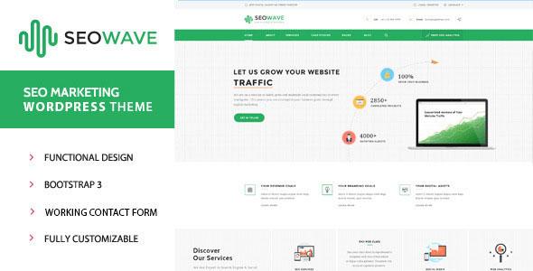 Seo Wave v1.2 – WordPress Theme for SEO - themesdad - Download Free ...