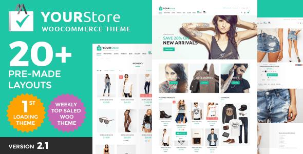 YourStore v2.1 – Responsive WordPress Woocommerce theme - themesdad ...