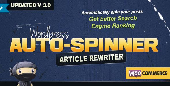 Wp article rewriter plugin