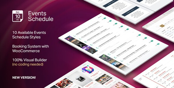 Events Schedule v2.4.3.1 – Premium Events WordPress Plugin ...