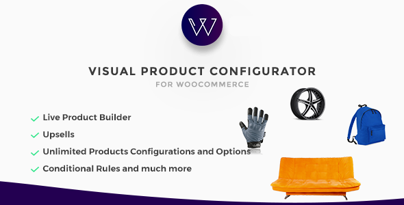 Woocommerce Visual Products Configurator v5 4 - Customize and