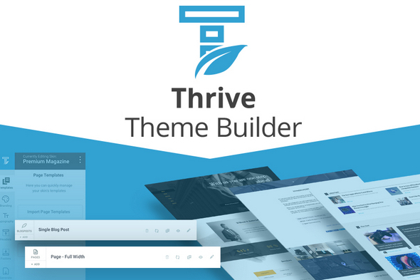 Thrive Theme Builder v0.3.41 - Visual WordPress Theme Editor ...