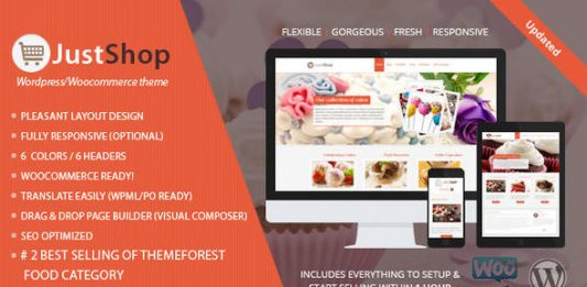 Food - themesdad - Download Free Wordpress themes & plugins